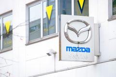Servizio di Mazda Fotografie Stock Libere da Diritti