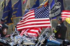 Servizio di Memorial Day fotografie stock libere da diritti