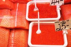 Servizio di pesci Fotografia Stock Libera da Diritti