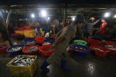 Servizio di pesci a Hong Kong Fotografia Stock