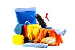 Servizio di pulizia Immagini Stock Libere da Diritti