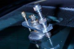 Servizio di riparazione dell'automobile Fotografie Stock Libere da Diritti