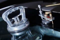 Servizio di riparazione dell'automobile Fotografia Stock