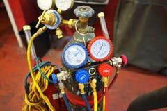 Servizio di riparazione professionale dell'automobile Fotografie Stock