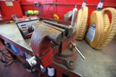 Servizio di riparazione professionale dell'automobile Fotografia Stock