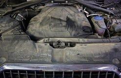 Servizio di riparazione professionale dell'automobile Fotografia Stock Libera da Diritti