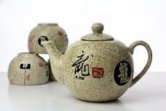 Servizio di tè Fotografia Stock