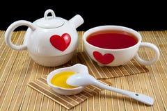 Servizio di tè Immagini Stock Libere da Diritti
