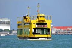 Servizio di traghetto di Penang Fotografia Stock