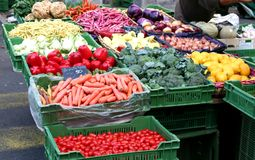 Servizio di verdure Fotografie Stock
