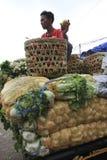 Servizio di verdure cinese Fotografia Stock