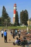 Servizio di via africano della gente namibia Fotografie Stock Libere da Diritti