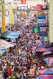 Servizio di via in Filippine Fotografia Stock Libera da Diritti