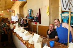 Servizio di via a Tbilisi, Georgia Fotografia Stock Libera da Diritti