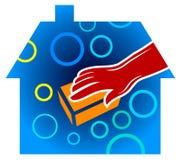 Servizio domestico di pulizia Fotografia Stock