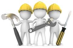 Servizio e riparazione. Fotografia Stock Libera da Diritti