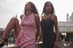 Servizio fotografico dei modelli a Venezia Immagini Stock Libere da Diritti