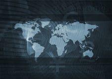 Servizio globale   Immagine Stock Libera da Diritti