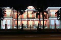 Servizio governativo in Macao alla notte Fotografia Stock Libera da Diritti