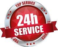 servizio 24h Fotografia Stock