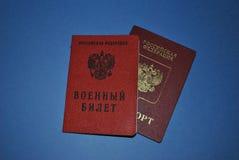 Servizio militare in Russia fotografie stock