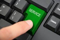 Servizio online immagine stock