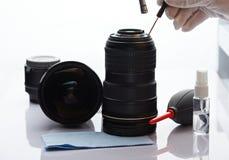 Servizio ottico di riparazione professionale Fotografia Stock