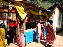 Servizio tribale Fotografie Stock