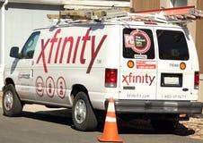 Servizio Van di Xfinity Immagine Stock