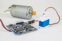 Servocommande, système elentronic photo stock