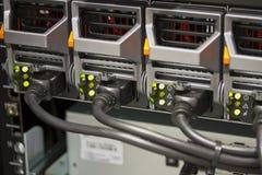 Serwerów źródła zasilania Zdjęcia Stock