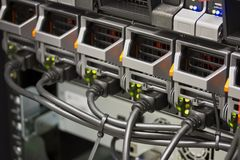 Serwerów źródła zasilania Obraz Stock