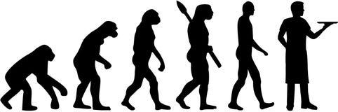 Serwer ewoluci wektor royalty ilustracja