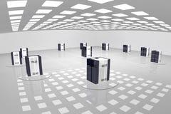 serwer pokój Zdjęcie Stock