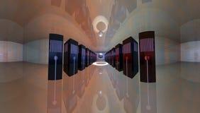 serwer pokój ilustracji