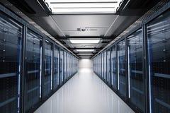 Serweru pokój lub serwerów komputery royalty ilustracja