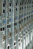 Serwery przygotowywali jest instalującym w datacenter Obraz Royalty Free