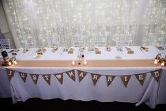 serwetki płytkę tabeli dekoracji Zdjęcie Royalty Free