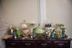 serwetki płytkę tabeli dekoracji Zdjęcie Stock