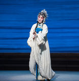 """Sery and unhappiness-The seventh act Disintegration of families-Kunqu Opera""""Madame White Snake"""". Legend of the White Snake is one of the most famous tales Stock Photo"""