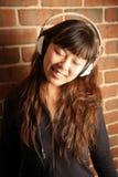 Süßes asiatisches chinesisches Mädchen Lizenzfreies Stockfoto