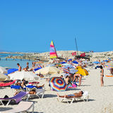 Ses Illetes Beach in Formentera, Balearic Islands Stock Photography