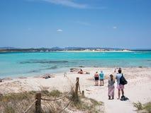 Ses Illetes beach, Formentera Stock Photo