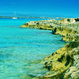 Ses Illetes in Formentera, Balearic Islands, Spain Stock Images