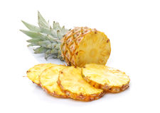 ses parts d'ananas images stock