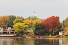 Ses tout environ couleurs en automne Images stock