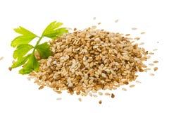 Sesam种子 免版税库存图片