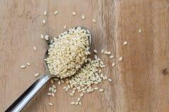Sesam seeds Stock Photo
