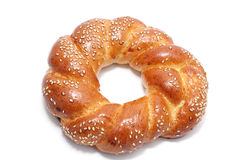 Sesame bagel Stock Photo