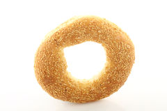 Sesame bagel Stock Photos